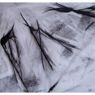 """Assassin Snatching"" Original Charcoal Drawing"