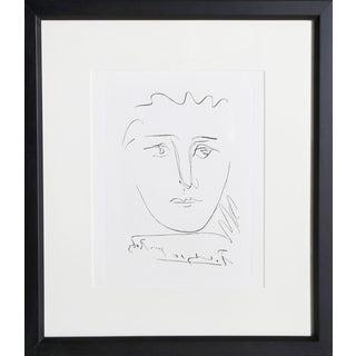 """Pablo Picasso """"l'Age De Soleil (Pour Roby)"""" Etching"""