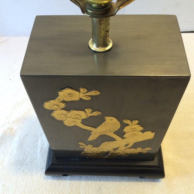 Mid-Century Fredrick Cooper-Style Asian Lamp - Image 5 of 11