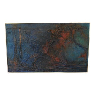 Mid-Century Abstract Painting