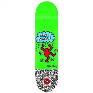Rare Keith Haring Green Skate Deck