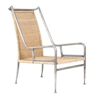 High-Back Lounge Chair Attributed to Arturo Pani