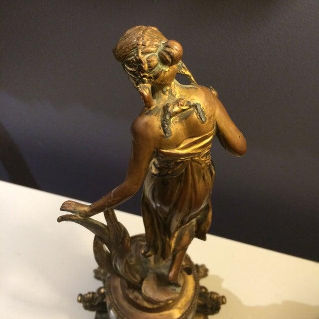 Bronze Sculptural Clock - Image 7 of 8