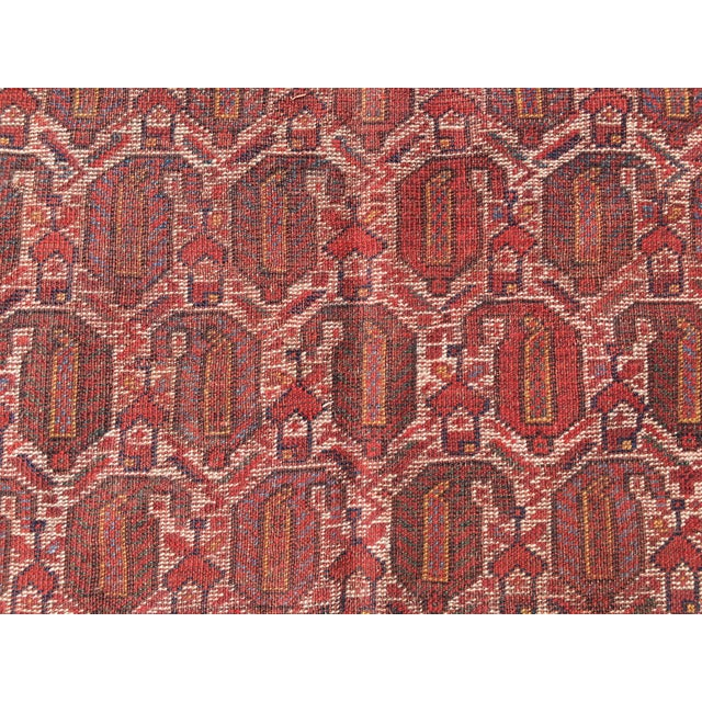 """Vintage Turkish Patchwork Rug - 5'5"""" X 8'10"""" - Image 8 of 11"""
