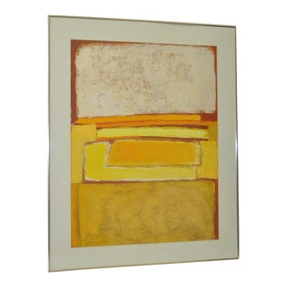 Classic 1970s Abstract Painting by Phyllis Cimenti