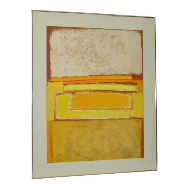 Classic 1970s Abstract Painting by Phyllis Cimenti - Image 1 of 7
