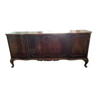 Antique Louis XV French Buffet Sideboard Credenza
