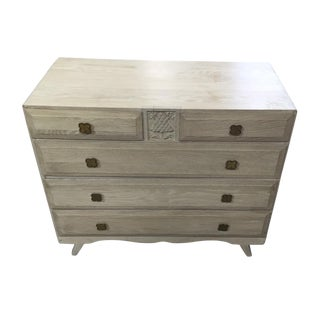 English Limed Oak Chest