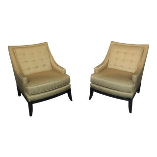 Kravet Custom Rye Chairs - A Pair