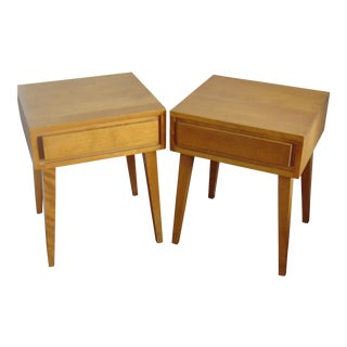 Conant Ball Furniture Makers Mid-Century Modern Side Tables- A Pair