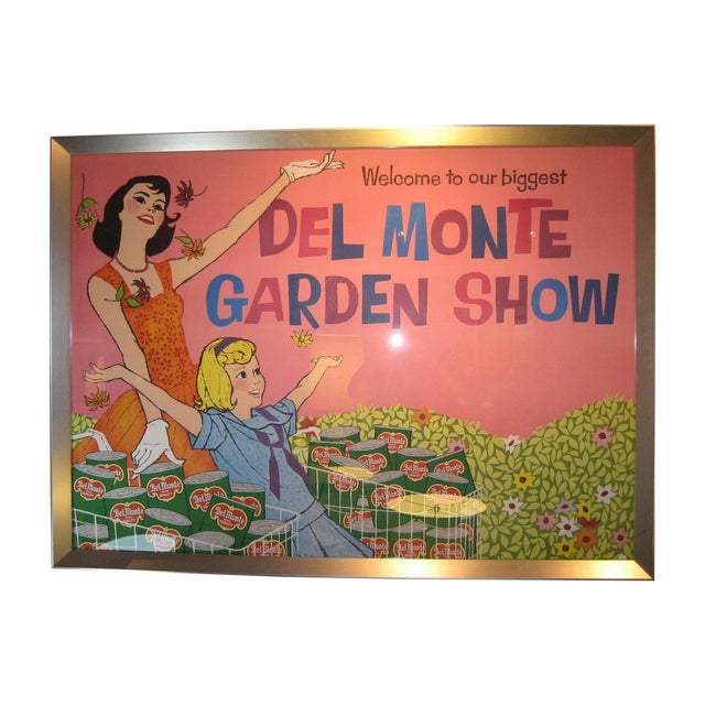 Del Monte Garden Show Poster - Image 1 of 3