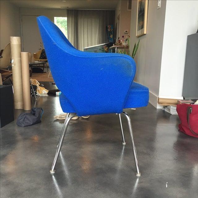 Eero Saarinen Knoll Executive Armchair   Chairish
