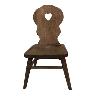 Antique Phoenix Chair Company Wooden Child's Chair