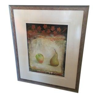 """Mei Yu Lo """"Pears"""" Original Painting"""
