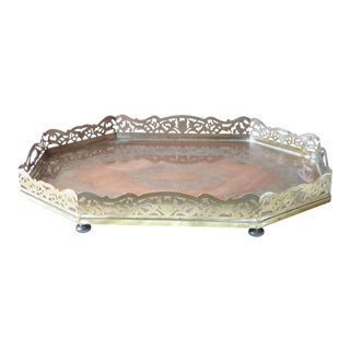 Copper Footed Breakfast Tray