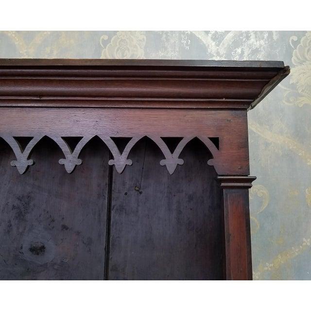 19th Century Antique Oak Inlaid Welsh Jacobean Style