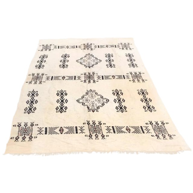 Vintage Native American Rare Blanket Hand Woven - Image 1 of 11