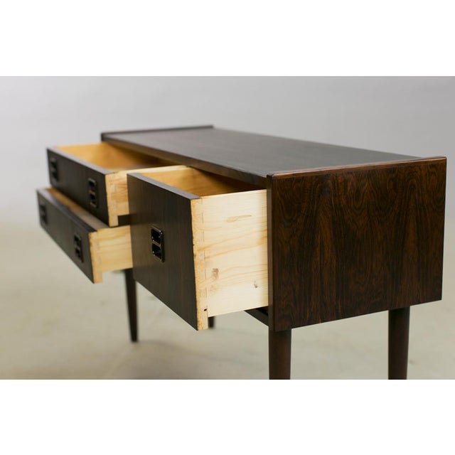 Danish Rosewood Night Stands by Kai Kristiansen - A Pair - Image 7 of 8