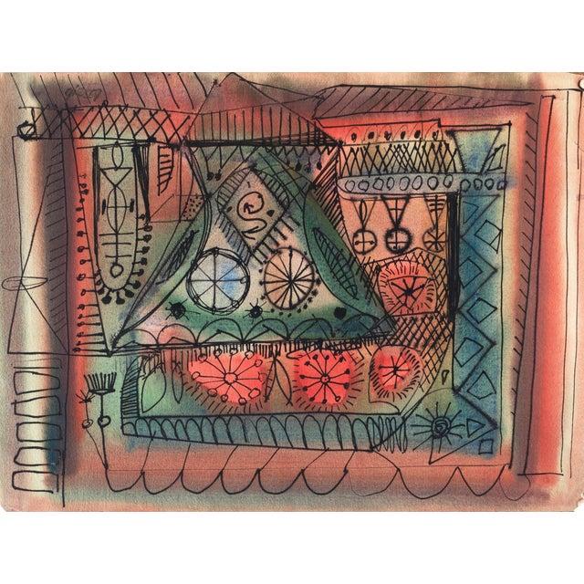 Robert Gilberg Vintage Dynamic Abstract - Image 1 of 7