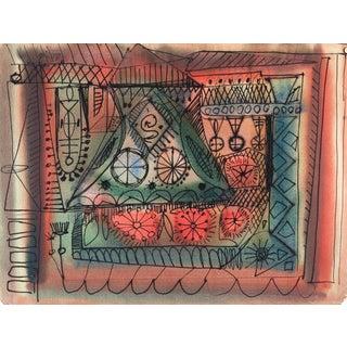 Robert Gilberg Vintage Dynamic Abstract
