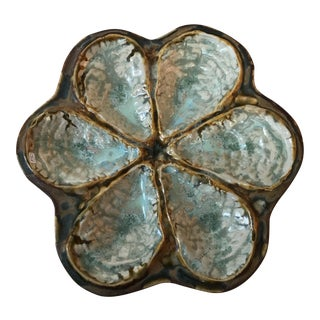 Irridescent Oyster Plate