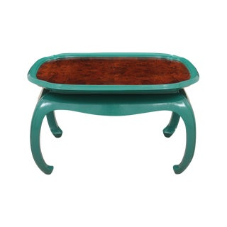 Chin Hua Style Emerald Coffee Table