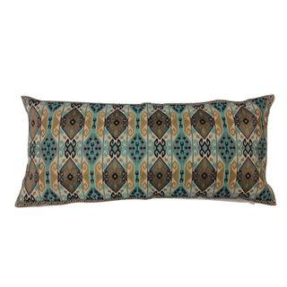Finn Daring Lumbar Embroidered Pillow