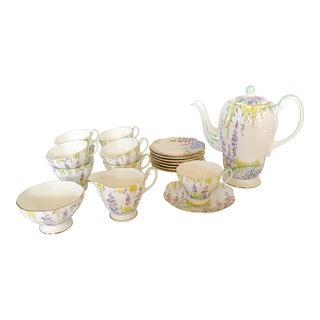 English Foley Tea Service