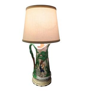 Vintage Kitchen Counter Accent Lamp