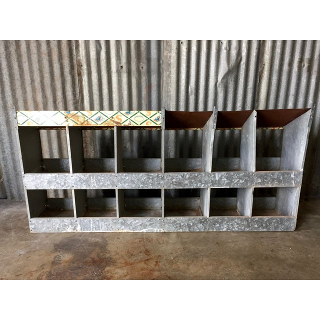 Vintage Chicken Coop Industrial Shelving - Image 6 of 8