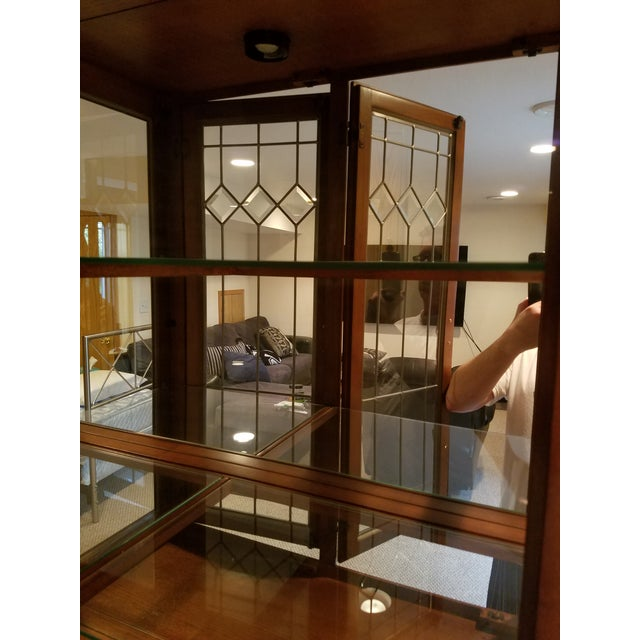 Wooden China Cabinet - Image 7 of 11