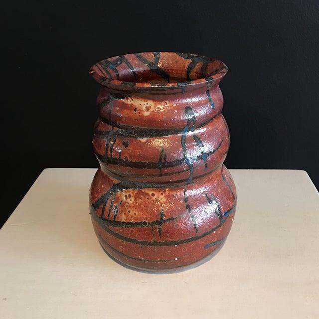 Stunning Signed Studio Glazed Pottery Vase - Image 7 of 7