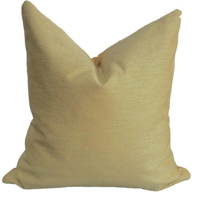 Linen Diamond Pattern Jacquard Pillow - Image 2 of 2
