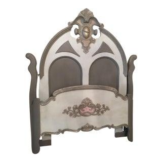 1800s Vintage Victorian Full Bed Frame