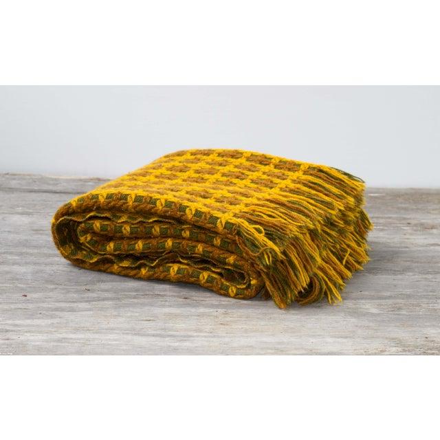 Vintage Pendleton Wool Knit Blanket - Image 2 of 7