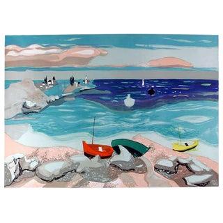 Georges Lambert, Seaside, Lithograph