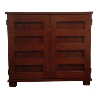 Crate & Barrel Contemporary Morris Collection Entertainment Cabinet