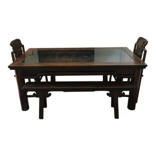 Antique Chinese Dining Set