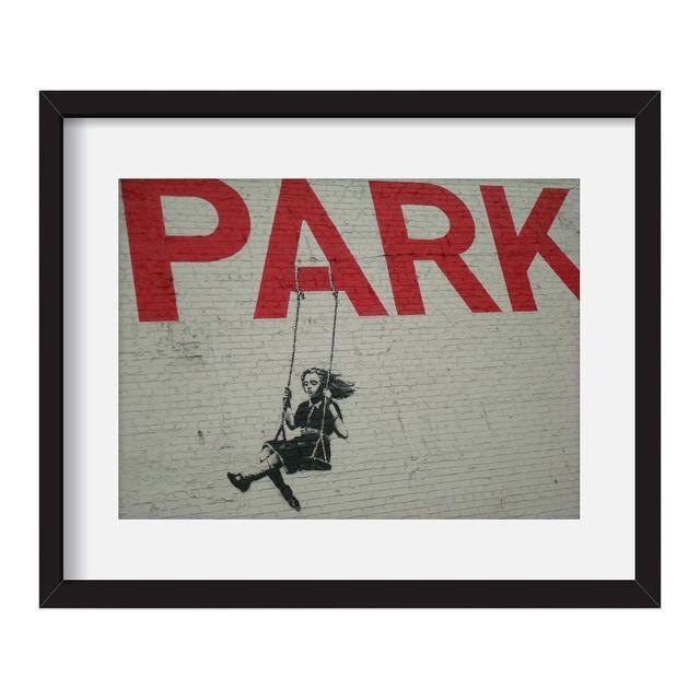 "Image of Lisa Fong ""Banksy Art"" Framed Photo Print"