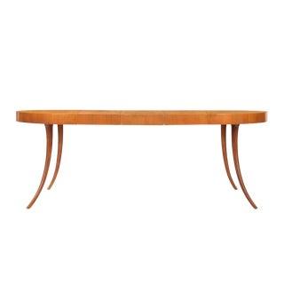 T.H. Robsjohn-Gibbings Saber-Leg Dining Table