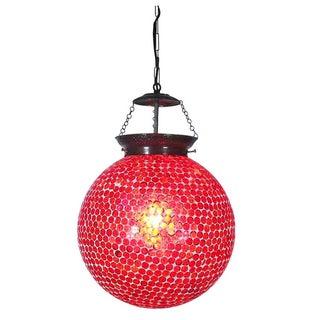 Mosaic Globe Lantern