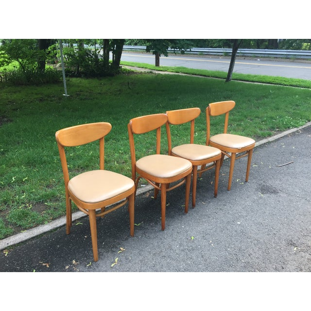 Mid Century Dining Chairs - 4 - Image 2 of 5