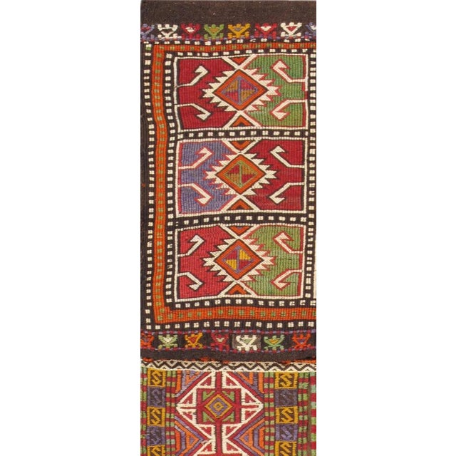"Vintage Saddlebag Rug- 1'9"" X 4'10"" - Image 2 of 2"