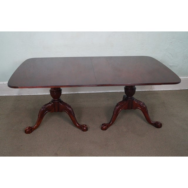 Wellington Hall Duncan Phyfe-Style Dining Table - Image 2 of 10