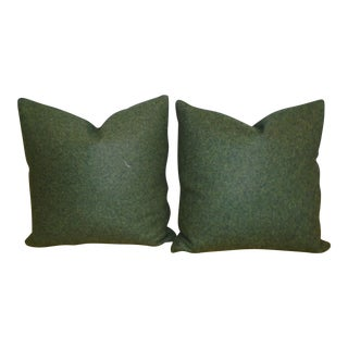 Maharam Wool Felt Pillows - A Pair