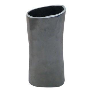 Mid-Century Modern Organic Aluminum Vase