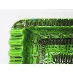 Image of Signed Green Bitossi Soap Dish Ashtray
