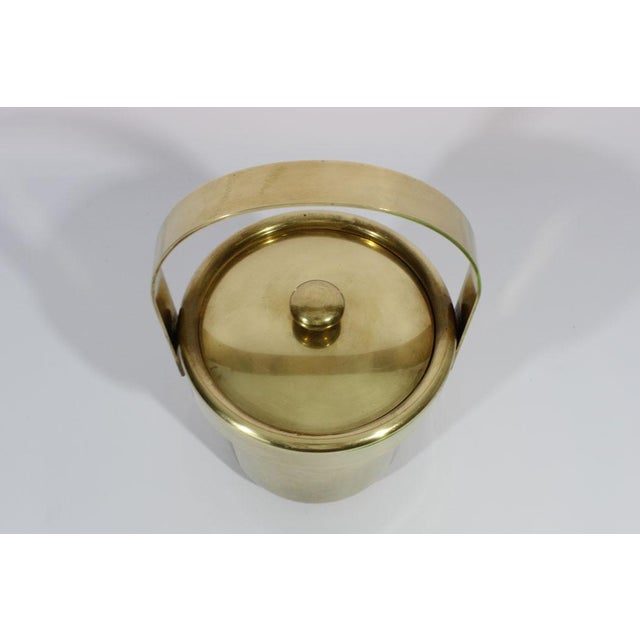 Image of Solid Brass Ice Bucket