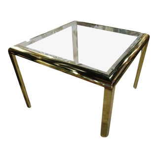 Vintage Design Institute of America DIA Brass Dining Table Game Table