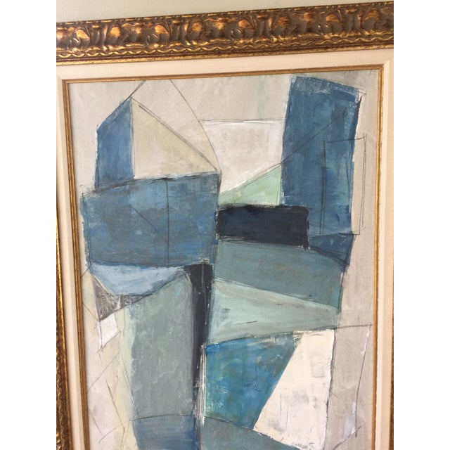 Large Geometric Abstract by Kimberly Moore - Image 3 of 5